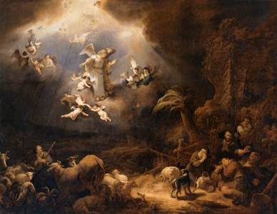 FLINCK-Govert-Teunisz.-Angels-Announcing-the-Birth-of-Christ-to-the-Shepherds